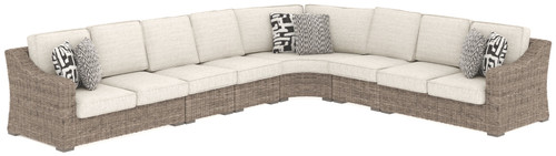 Beachcroft Beige 6 Pc. Sectional Lounge