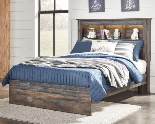 Drystan Multi Full Bookcase Bed