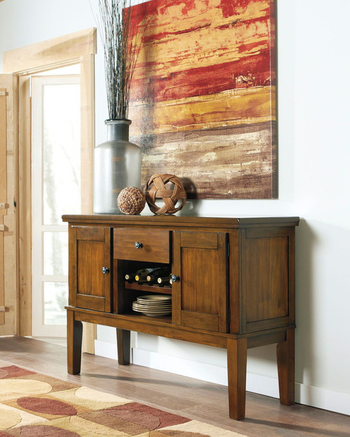 Ralene Medium Brown Dining Room Server