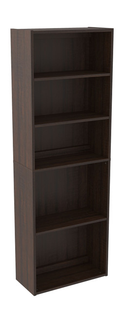 Camiburg Warm Brown Bookcase