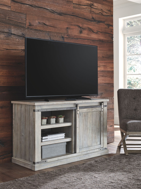 Carynhurst Whitewash Medium TV Stand