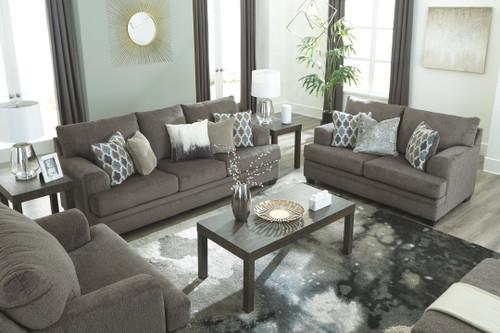 Dorsten Slate Sofa,Loveseat & Chair and a Half
