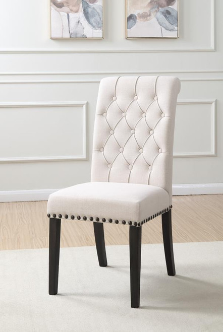The Hampshire White Upholstered Side Chair Sold At Discount Home Furniture Serving Burnsville Mn