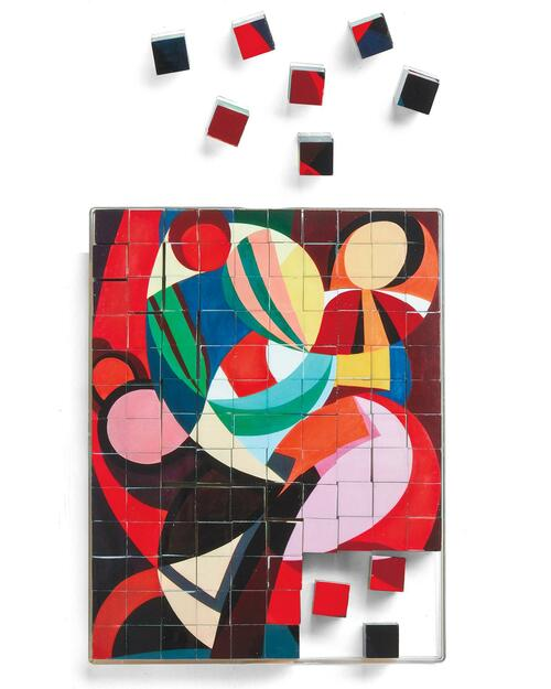 Modern Art Puzzle Blox View Product Image