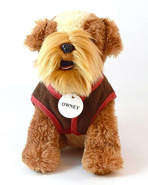 Ultra Plush Postal Museum Owney Dog View Product Image
