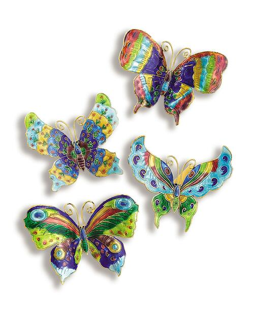 Cloisonné Butterfly Magnets View Product Image