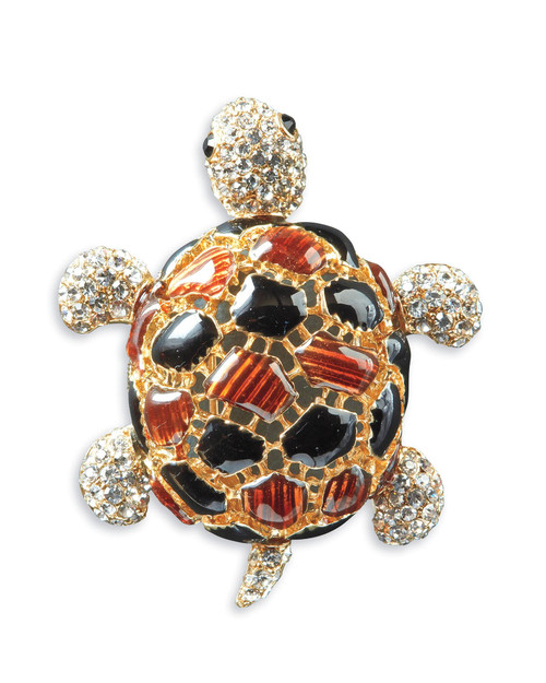 Enamel Turtle Pin View Product Image