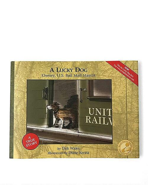 A Lucky Dog: Owney, U.S. Rail Mail Mascot View Product Image