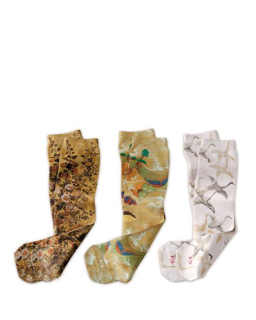 Smithsonian Sotatsu Art Socks 3-Pack View Product Image