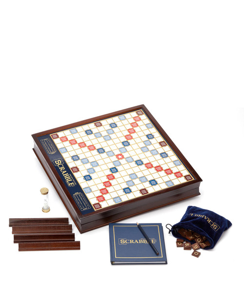 Scrabble Deluxe Edition View Product Image