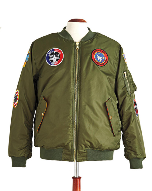 6-Patch Adult MA-1 Flight Jacket View Product Image