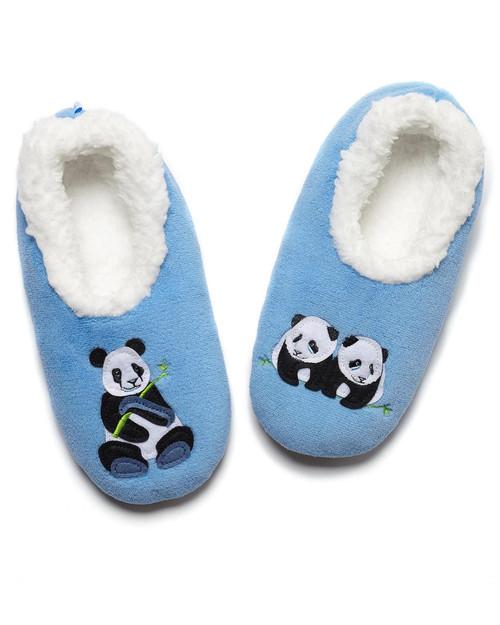 Women's Panda Slippers View Product Image