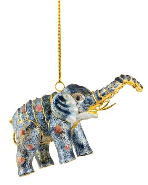 Cloisonné Handmade Elephant Ornament View Product Image