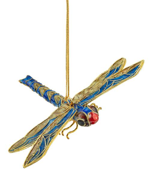 Cloisonné Dragonfly Handmade Ornament View Product Image