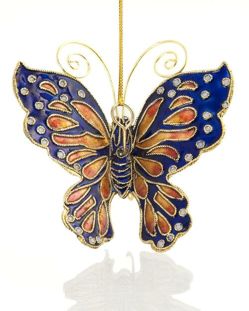 Cloisonné Handmade Butterfly Ornament View Product Image