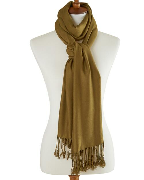Luxurious Satin-Weave Scarf View Product Image