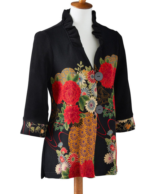Asian Bouquet Jacket View Product Image