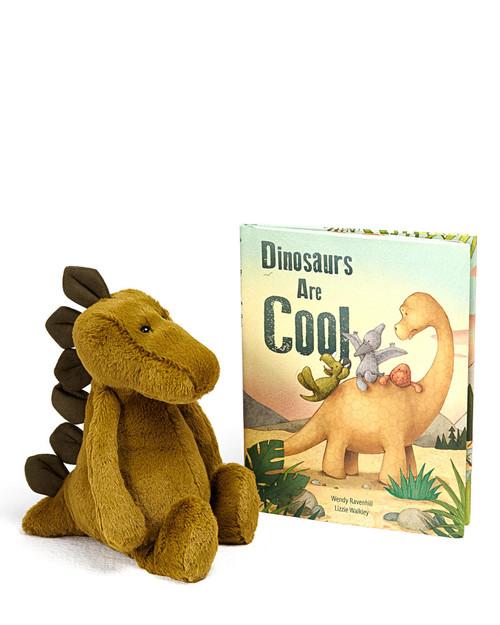 Bashful Stegosaurus Plush and Dinosaurs Are Cool View Product Image