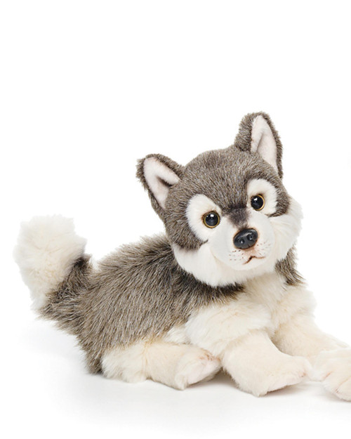 """9.5"""" Small Plush Wolf View Product Image"""