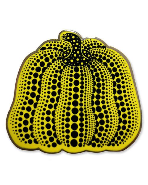 Yayoi Kusama Enamel Pumpkin Pin View Product Image