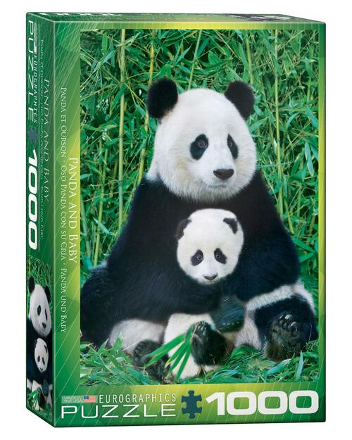 Giant Panda and Baby Jigsaw Puzzle View Product Image
