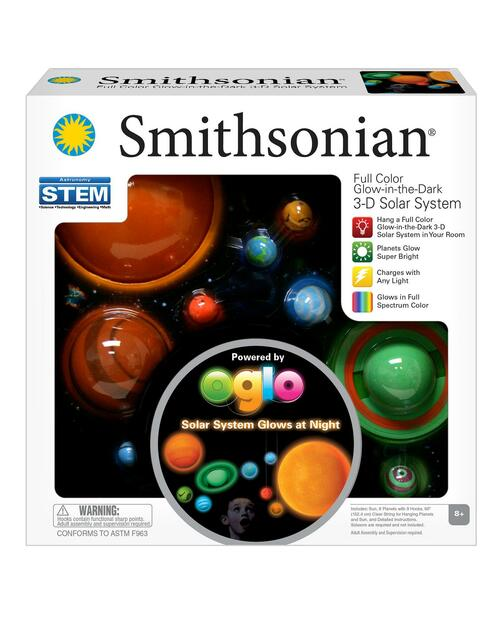 Smithsonian Glowing 3-D Solar System Kit View Product Image