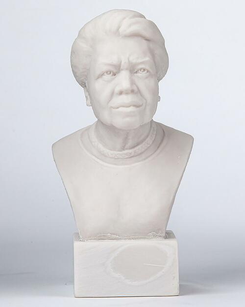 Maya Angelou Bust View Product Image