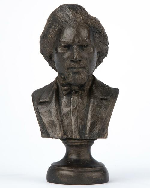 Frederick Douglass Bust View Product Image