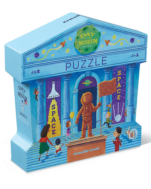 Day at the Museum Space Puzzle View Product Image