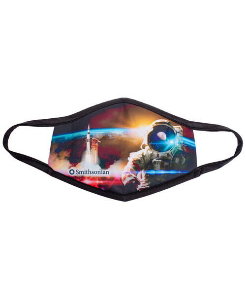 Space Suit Adult Mask View Product Image