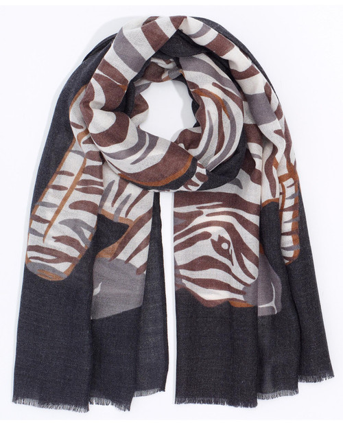 Zebra Scarf View Product Image