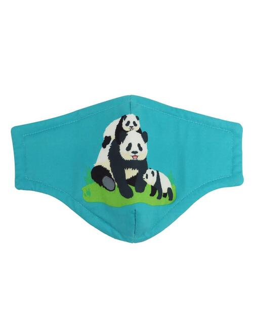Giant Pandas Adult Mask View Product Image