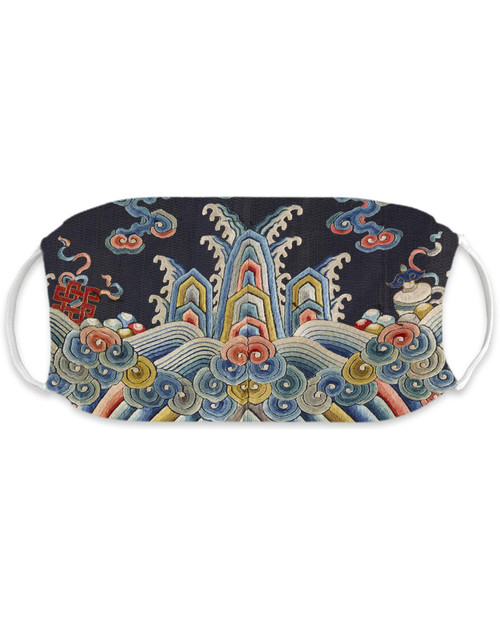 Qing Dynasty Robe Adult Mask View Product Image