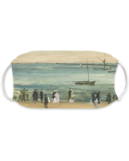 Southend Pier Whistler Adult Mask View Product Image
