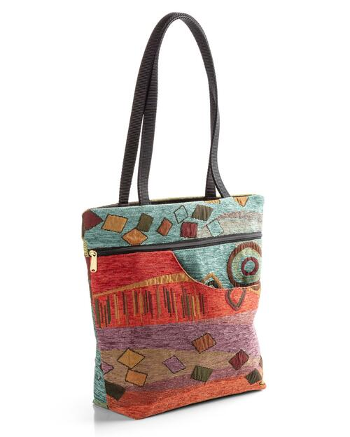 """Isabella """"Wild Mango"""" Tote View Product Image"""