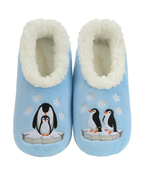 Women's Penguin Slippers View Product Image