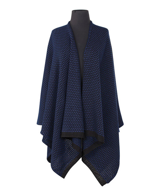 Navy Blue Wrap View Product Image