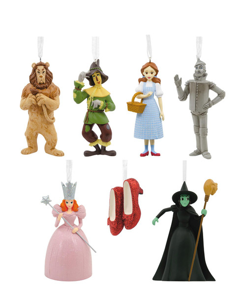 Set of 7 Wizard of Oz Ornaments View Product Image