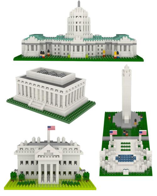 Washington, D.C. Mini Building Blocks Set View Product Image