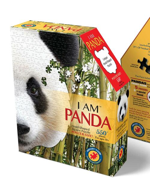 I Am Panda Puzzle View Product Image