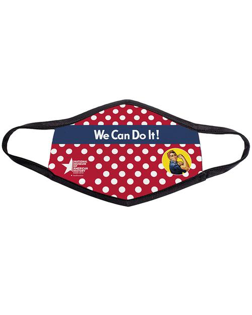 We Can Do It Adult Mask View Product Image