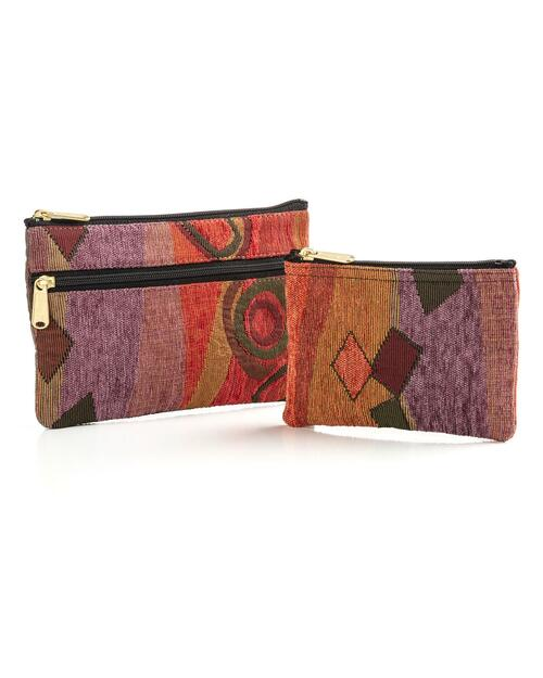 """""""Wild Mango"""" Cosmetic and Coin Purse Set View Product Image"""