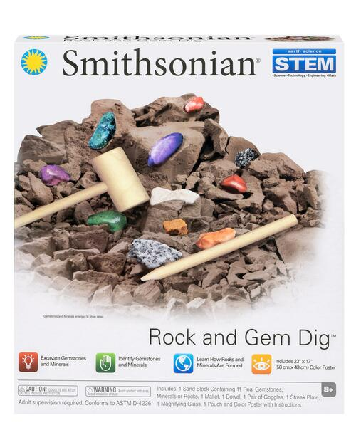 Smithsonian Rock and Gem Dig Kit View Product Image