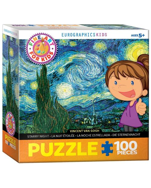 Starry Night by Vincent van Gogh Jigsaw Puzzle View Product Image