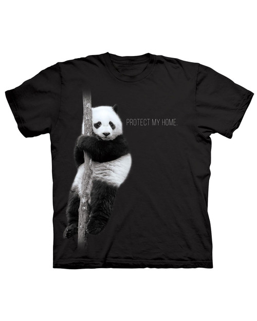 Protect My Home Panda T-Shirt View Product Image