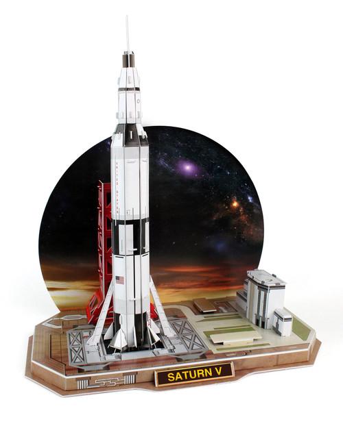 Saturn V Rocket 3D Puzzle View Product Image