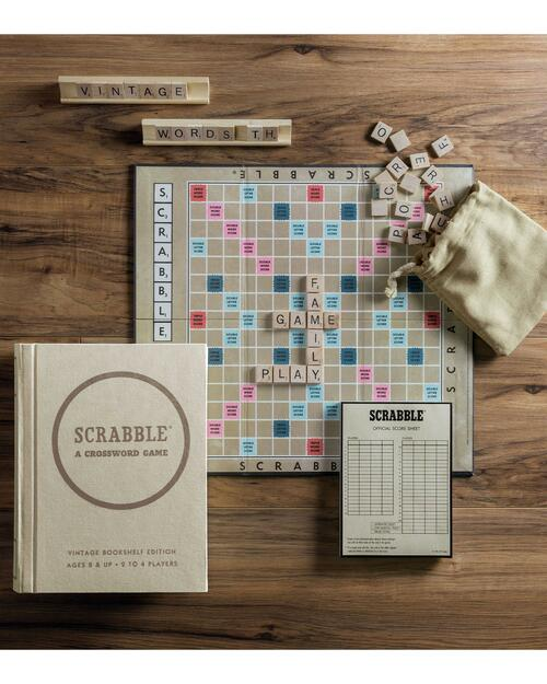 Scrabble Vintage Bookshelf Edition View Product Image