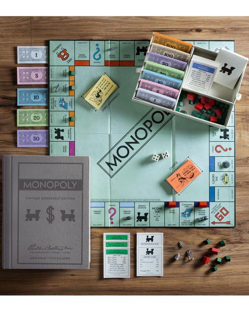 Monopoly Vintage Bookshelf Edition View Product Image
