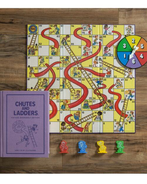 Chutes and Ladders Vintage Bookshelf Edition View Product Image