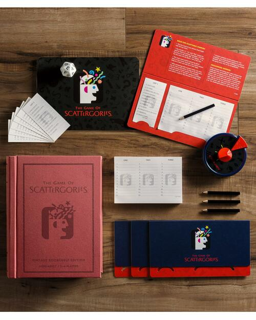 Scattergories Vintage Bookshelf Edition View Product Image